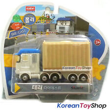 Robocar Poli TERRY Diecast Metal Figure Toy Car Trailer Truck Academy Genuine