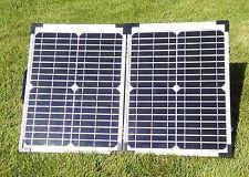 40W Folding Solar Panel KIT 2X20W with USB 100W 150W  TITAN-ENERGY UK caravans