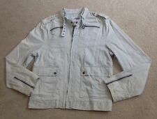 Men's White POLITIX Jacket, XL - GREAT Condition, RRP $140