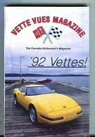 Vette Vues Magazine October 1991 '92 Corvettes EX No ML 053117nonjhe