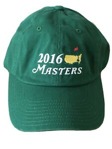 New With Tag 2016 Masters Golf Cap Hat Emerald Masters Golf Hat American Needle