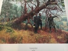 Mort Kunstler The Commanders of Manassas Limited Edition Civil War Print S/N