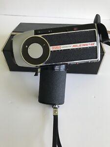 * EUMIG Viennette Super 8 Cine Camera - Made in Austria - Original Box and Key