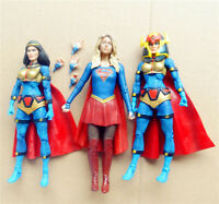 "lot 3 DC Universe Big Barda DC Collectibles SUPERGIRL tv action Figure 6"" 6.75"""