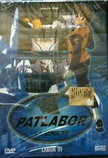 PATLABOR SERIE TV + OAV SERIE COMPLETA 23 DVD NUOVA SIGILLATA