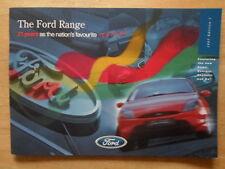 FORD RANGE 1997 UK Mkt Brochure - Ka Fiesta Escort Puma Mondeo Scorpio Explorer