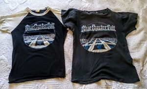 Vintage His & Hers BLUE OYSTER CULT 1981 Concert Tour Shirts Size Medium Small