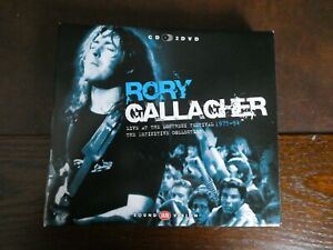 Rory Gallagher dvds