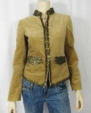 MICHAEL KORS Sequin Chinese Collar Night Out Cardigan Jacket