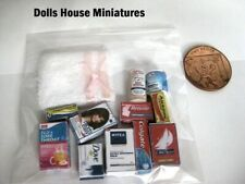 BATHROOM  ACCESSORIES DOLLS HOUSE MINIATURES