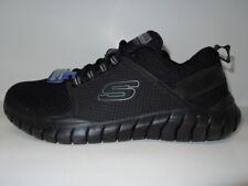 Skechers OVERHAUL PRIMBA Memory Foam SN 52821 Men's Size 9.5 M-- Black