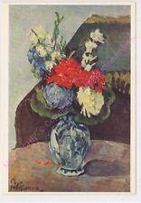 CP ART TABLEAU PAUL CEZANNE Bouquet of flowers  Blumenstraus