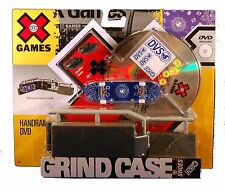 MATTEL X GAMES GRIND CASE & SHOES W/ DVD R9587 *NEW*