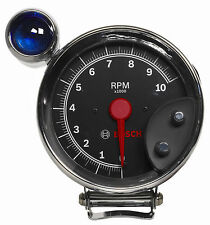 "Bosch Performance 5"" Super Tach III Tachometer Black / Chrome Cup, Bezel FST7905"