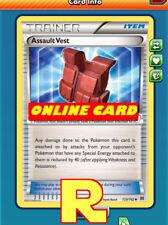 2x Assault Vest for Pokemon TCG Online ( DIGITAL ptcgo in Game Card)