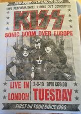 Kiss Live In London 2xl Short Sleeve T Shirt Gray 2011 New 100% Cotton