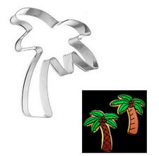 FD2929 Stainless Steel Cookie Cutter Cake Baking Mould Coconut Tree DIY Mould