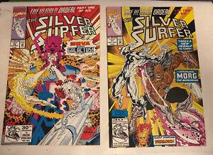 Silver Surfer (Vol 2) #70 G  Marvel Comics Herald ordeal parts 1 & 2 Aug 1992