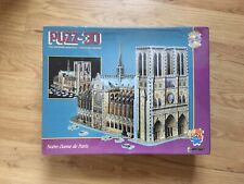 Puzz 3D 952 pieces Jigsaw Puzzle Notre Dame de Paris Cathedral Sealed