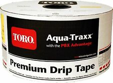 "Toro Aquatraxx 5/8"" Drip Tape Irrigation Line 8"" 0.34GPM 15MIL 4000FT Garden"