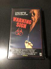 Warning Sign Beta FILM (not Vhs) / Horror / Cbs Fox Release