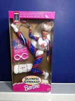 1996 Mattel Olympic Gymnast Barbie Doll NIB