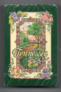 #N.010 Vintage Swap / Playing Card SEALED DECK, Tennessee, floral 1970's