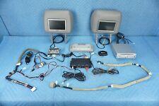 Lexus LX470 DVD Player Control Panel Screens & Headrests Full Set 2003-2007