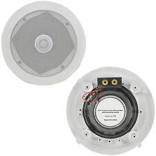 """Pair – 75W Directional Tweeter Ceiling Speaker -6.5"""" 8Ohm 2 Way-Adjustable HiFi"""