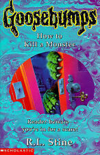 How to Kill a Monster by R. L. Stine (Paperback, 1997)