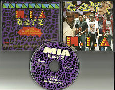 M.I.A. Boyz w/ ACAPPELLA & INSTRUMENTAL USA 2007 PROMO DJ CD Single Boys MIA