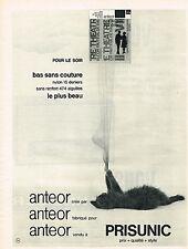 PUBLICITE advertising  1961   PRISUNIC  bas & collants ANTEOR