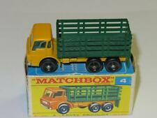 MATCHBOX Regular Wheels 04 Stake Truck VVNM in F1 Box