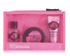 The Body Shop British Rose Beauty Bag 3 Piece BRAND NEW GIFT SET FACTORY SEALED