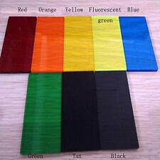 2 pcs Colourful Transparent Acrylic Panel Sheet Plexiglass Plastic Plate