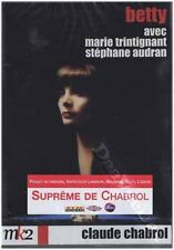 Betty NEW PAL Arthouse DVD Claude Chabrol Marie Trintignant S. Audran France