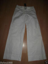 Wide Leg Cotton Other Casual Trousers NEXT for Women