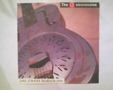 Dire Straits BROTHERS IN ARMS cd 1ST.PRESS SANYO JAPAN (NO-blue swirl.target)