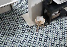 Piastrelle blu per pavimenti per il bricolage e fai da te