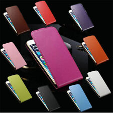 Vertical Leather Flip Cover Pouch Case For Samsung Galaxy Note 2 II N7100 N7105