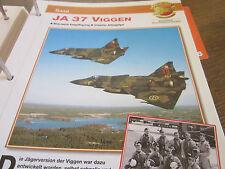 Faszination 5 124 Saab Ja 37 Viggen Abfangjäger Schweden