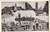 NO 622 - Multi View Postcard - London- POSTED 1952