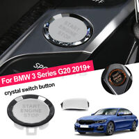 ABS Engine Start Stop Switch Button Crystal Decor For BMW 3 Series G20   !!
