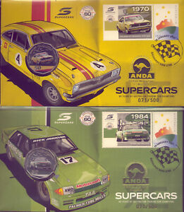 2021 BRISBANE EXPO ANDA PNCs :SUPER CARS  2 MATCHING NUMBERS: NO RESERVE