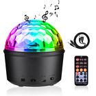 DJ Lighting LED Crystal Magic Ball Projector Stage Show Light Club RGB Disco