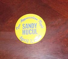 Phoenix Roadrunners Pin Back Buttons 1969 -1970's ( Sandy Hucul April 1972 )