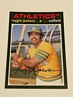 2012 Topps Archives Baseball Base Card #75 - Reggie Jackson - Oakland Athletics