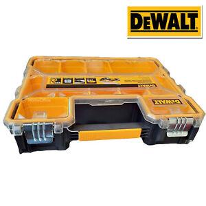 DeWalt Deep Pro Yellow/Black Tool Storage Screws Nails Box Single Depth 11.6cm