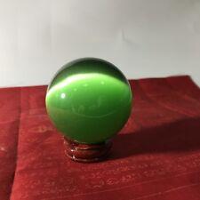 Green Naga Eye Ball Crystal Real Thai Amulet High Quality Miracle Holy Stone