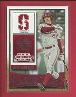 Stephen Piscotty RC 2015 Contenders Season Ticket Rookie Card # 87 Cardinals